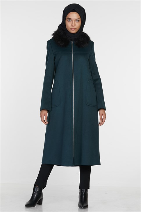ARMİNE COAT 18KA7718 Emerald