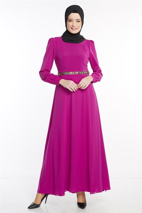 ARMİNE DRESS 18YA9599 Redbud