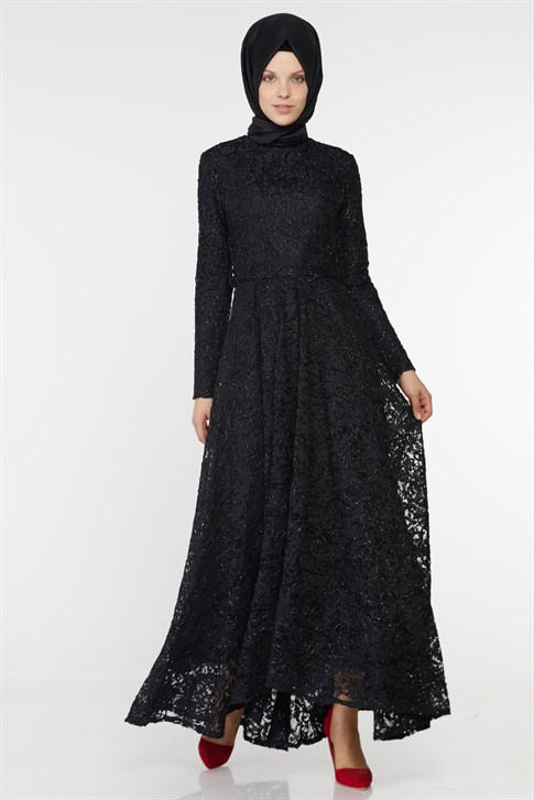 ARMİNE EVENING DRESS 18YA1625 Black