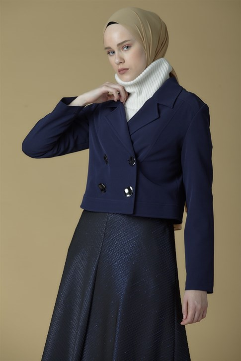 Armine Jacket Navy Blue 9K5600