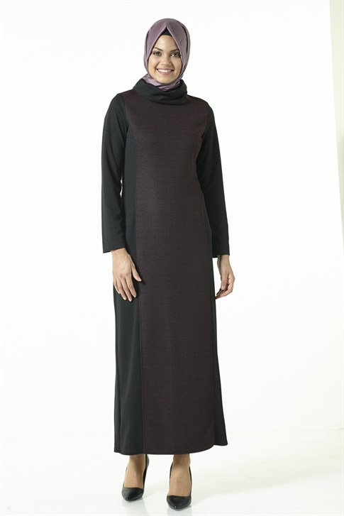 Armine Dress Plum 8kd8013