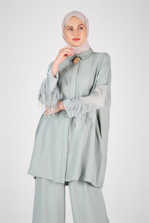 Armine Arm Tassel Suit Mint 20Y6130