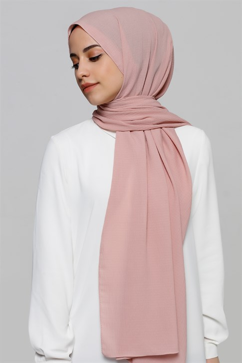Armine Trend Polyester Şal 00Oa0444 Pudra