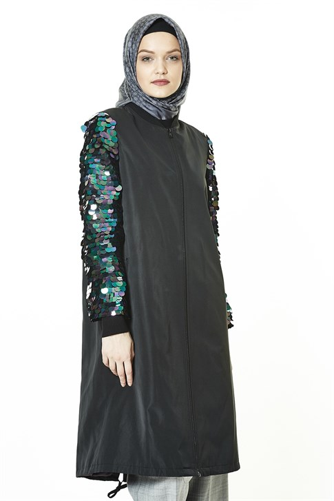 8k7643 Armine Long Jacket
