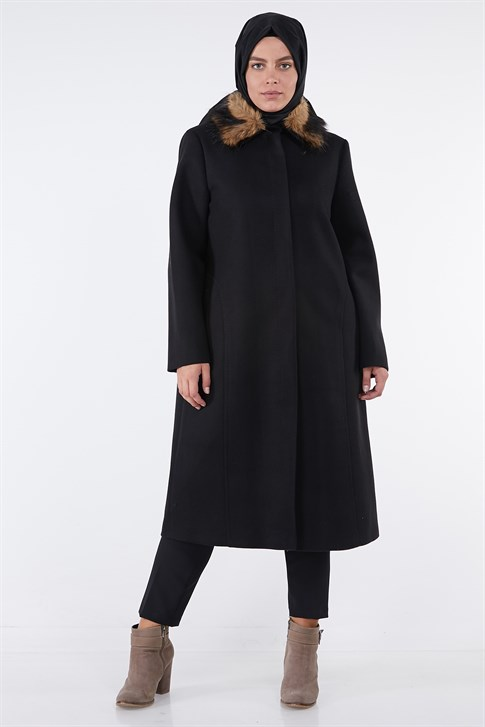 ARMİNE COAT 18KA7714 Black