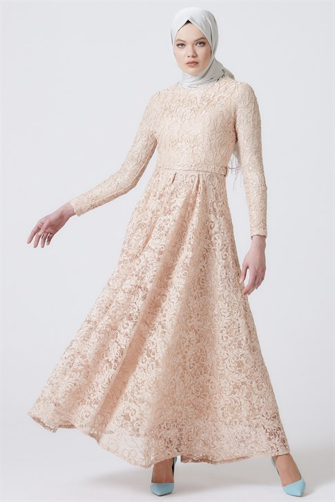ARMİNE EVENING DRESS 18YA1625 Gold