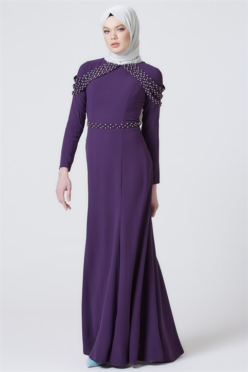 Armine Evening Dress Purple 7yd1623