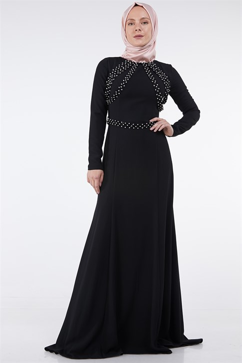 Armine Evening Dress Black 7yd1623
