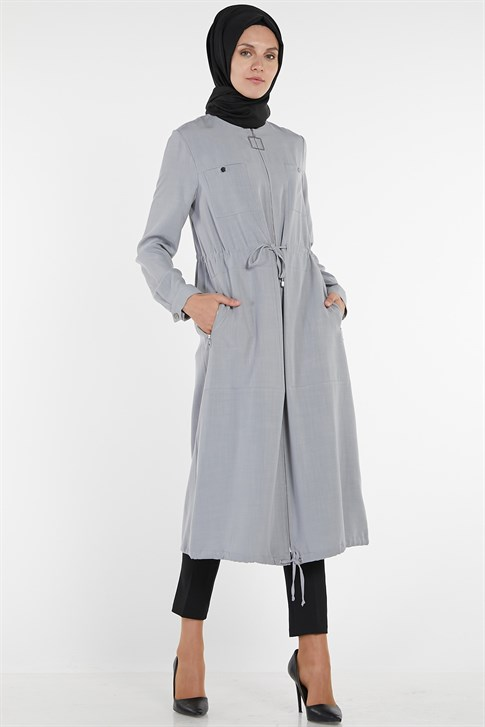 Armine Cape 19YA7734 Light Gray