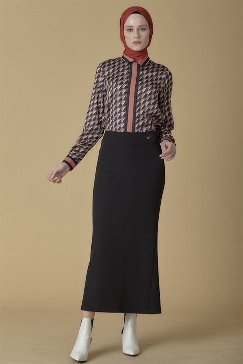 Armine Skirt Black 9K1820