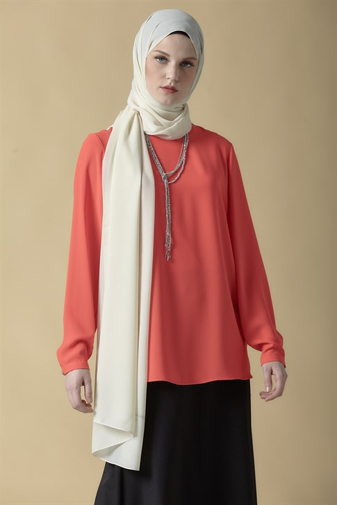 Armine Necklace Accessory Blouse Pomegranate Flower 9K3741