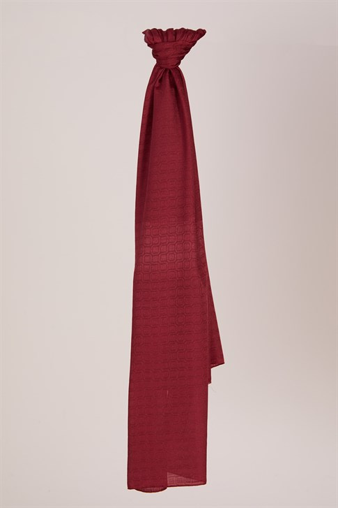 Armine Polyester Fiber Shawl Claret Red S00OA0444053