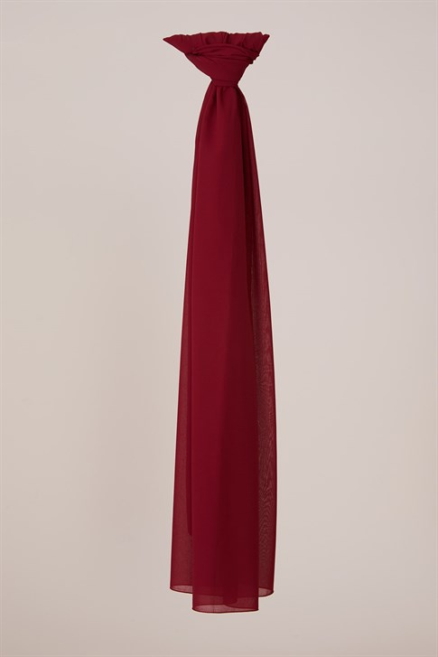 Belli polyester shawl 00OAAT44    BORDEAUX