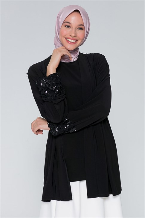 Armine Double Suit Black 9Y8120