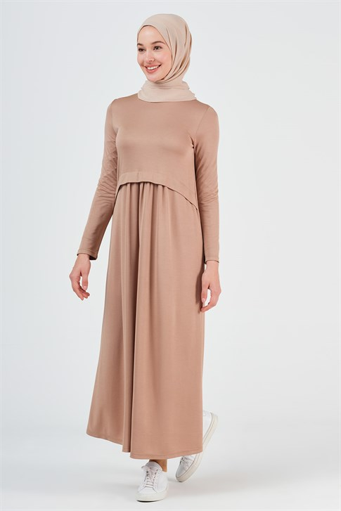 Armine Dress 19YA9720 Camel