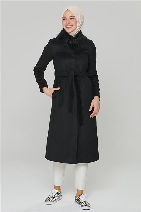 Armine Rain Coat 20KA7264 Black