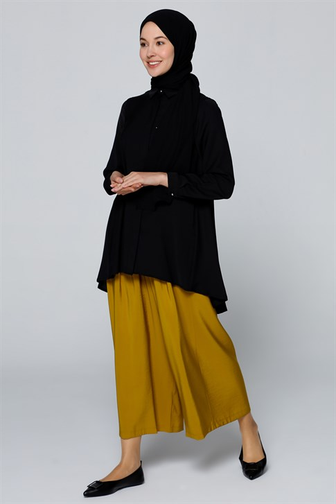 Armine Pocket Wide Leg Pants Saffron 20Y2906