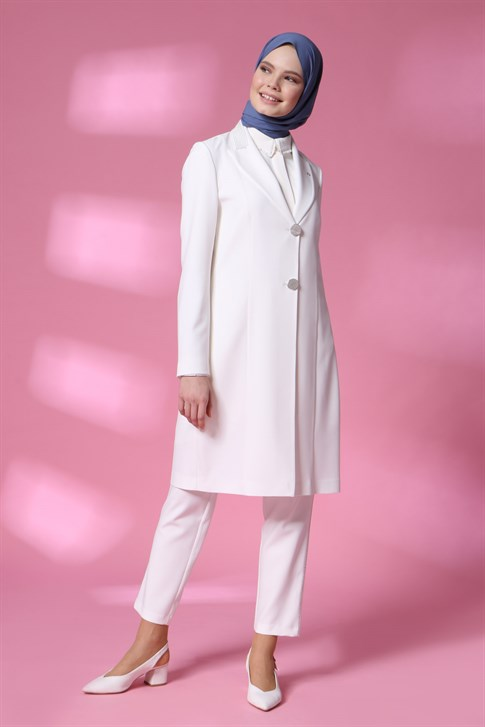 Armine Suit 20YA6108 White