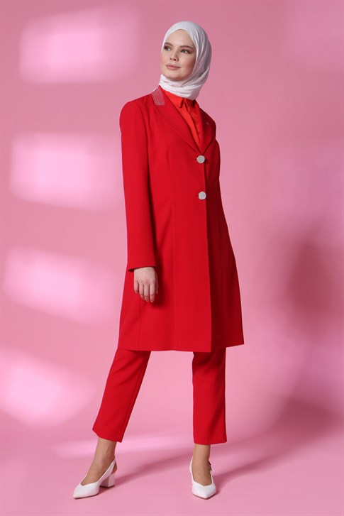 Armine Suit 20YA6108 Red