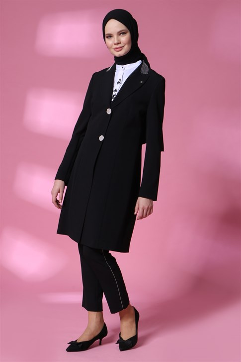 Armine Jacketed Suit 20Y6108 Black