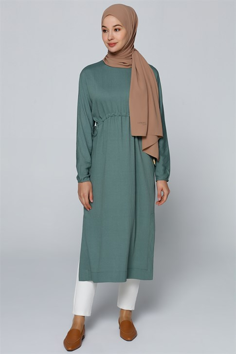 Armine Lacing Laced Tunic Pine Green 20Y9122