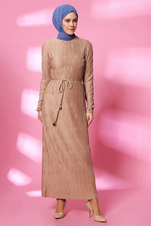 Armine Dress Camel 20Y9136