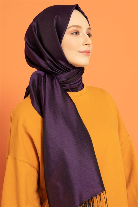 Armine Trend Narcissus Shawl Purple