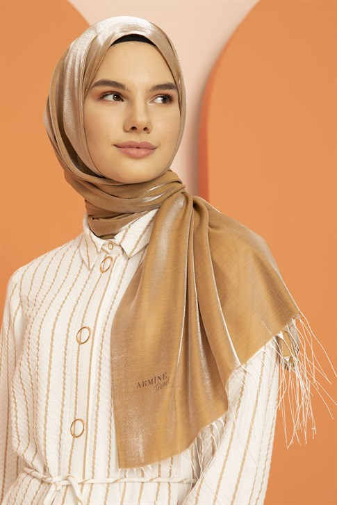 Armine Trend Diamond shawl 00OA0444   Cinnamon