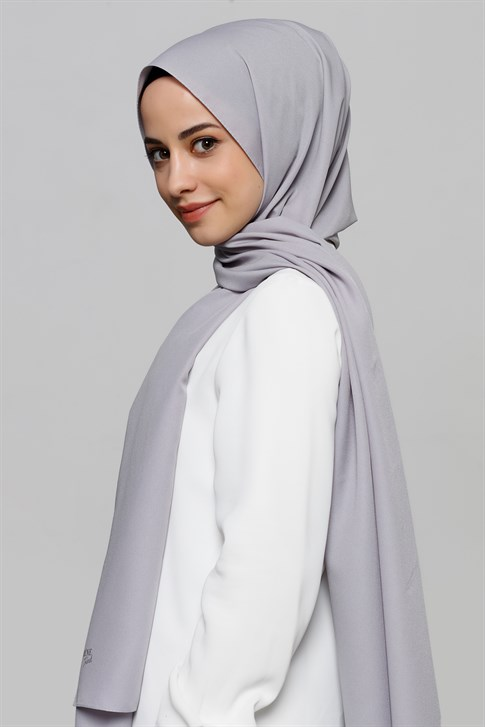 Armine Trend polyester shawl 00OA0444   Silver